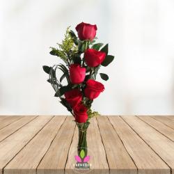 Solitario con Rosas - Flores Cali