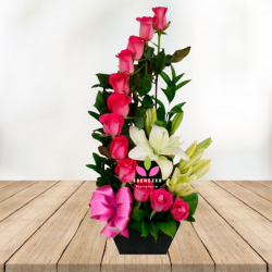 "Flores Cali ""Espiral de rosas"""