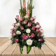 "Arreglo flora ""primavera de rosas"""