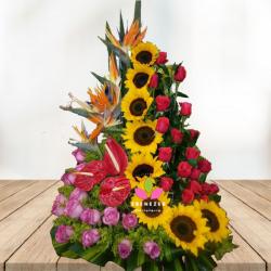 """Flores Cali """"brisa de girasoles"""""""