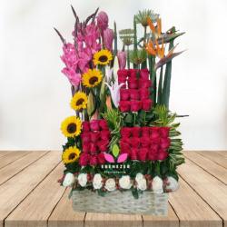 """Flores Cali: """"Impacto floral"""""""
