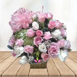"""Flores Cali """"Canasta de Rosas"""""""