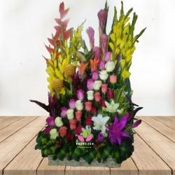 """Flores Cali: """"Jardín de Flores"""""""