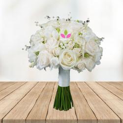 Bouquet de Rosas blancas