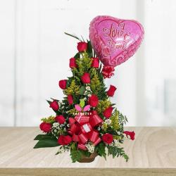 Arreglo Floral  Regalo de Rosas