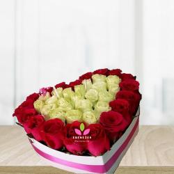 Corazon de rosas Combinado