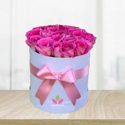Cilindro de rosas