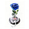 Rosa Preservada Azul Cali