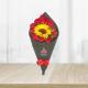 Bouquet de Rosas y GIrasol
