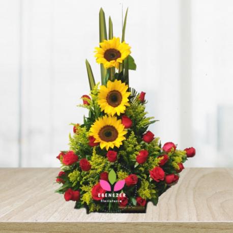 Floristerias Cali- Arreglo floral