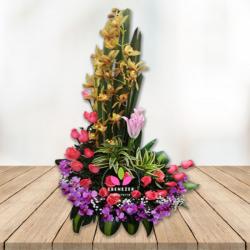 Arreglo floral eterno Amor
