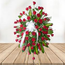 Arreglo funebre  Rosas